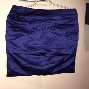 Satin Dress Skirt - size 9